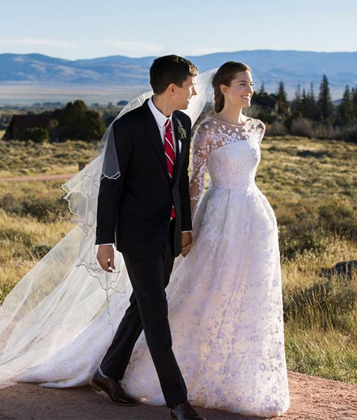 Allison Williams Is Married! See Her Wedding Dress