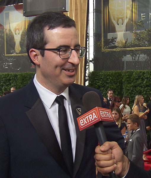 John Oliver, Ricky Gervais and Other Stars Take on Trump at the Emmys
