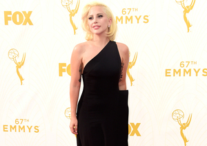 Lady Gaga Goes Old Hollywood at 2015 Emmys