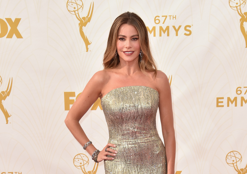 Sofia Vergara Dishes on Her Wedding Dress at the Emmys