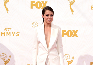 Hot Pants! 'Orphan Black' Star Tatiana Maslany Suits-Up for the Emmys