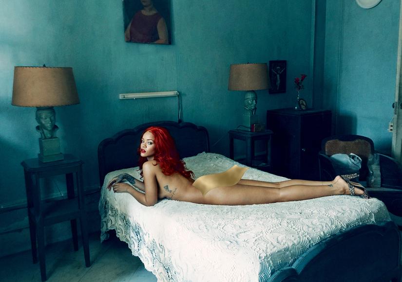 Rihanna Vanity Fair November 2015 Inside Image 3 bannered