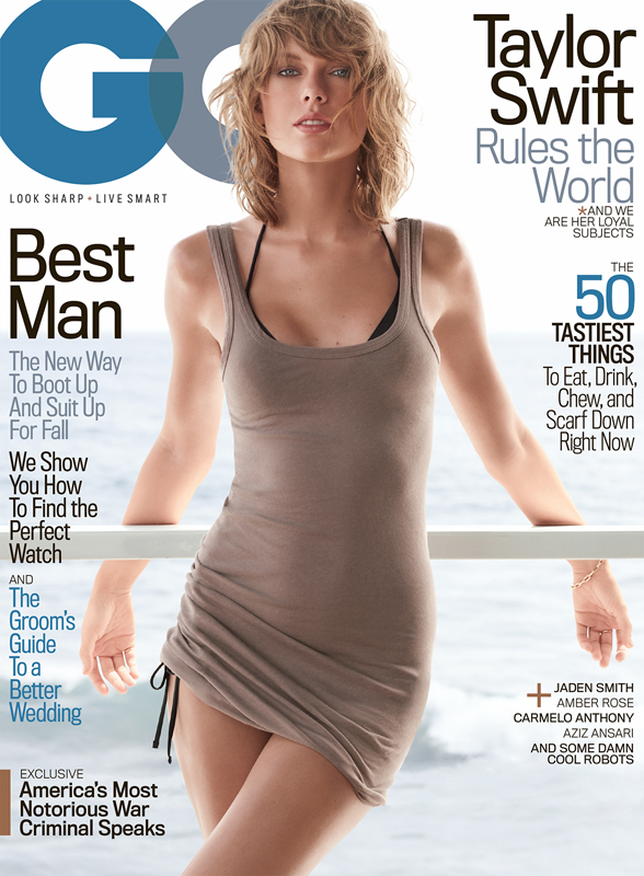 GQ Taylor Swift Covers