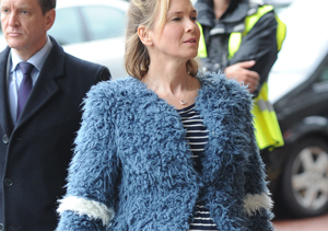 First Pics of Renée Zellweger Pregnant on the Set of 'Bridget Jones's Baby'