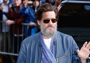 Jim Carrey Says Good-bye to Cathriona White