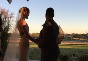 Sean Avery & Hilary Rhoda Exchange 'I Dos'
