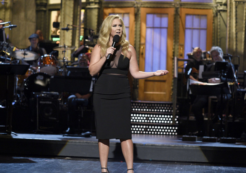 Watch Amy Schumer Joke About Being Engaged to Bradley Cooper