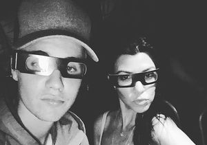 Boo! Kourtney Kardashian & Justin Bieber Hang Out at Halloween Horror Nights