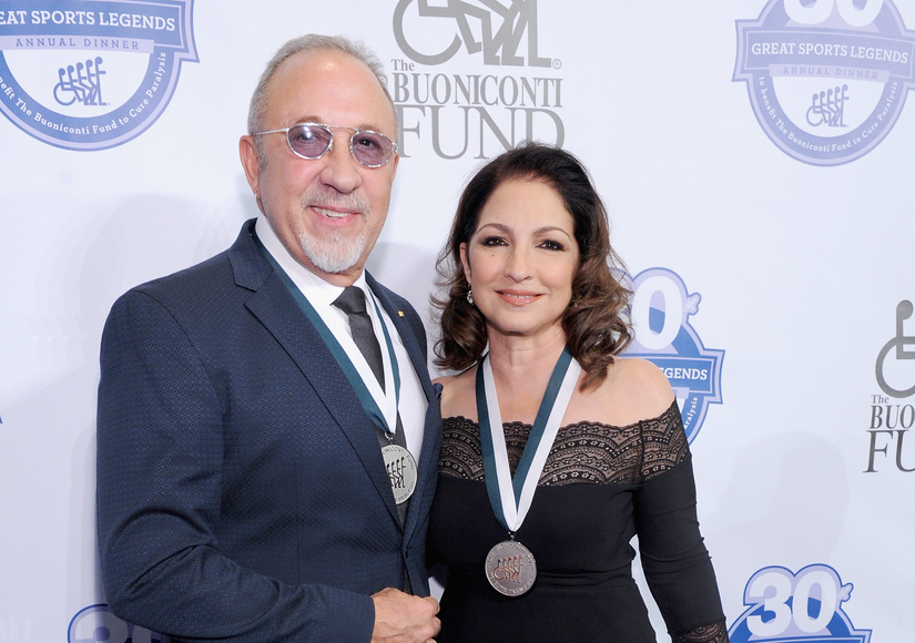 Gloria and Emilio Estefan Honored at 30th Annual Great Sports Legends Dinner