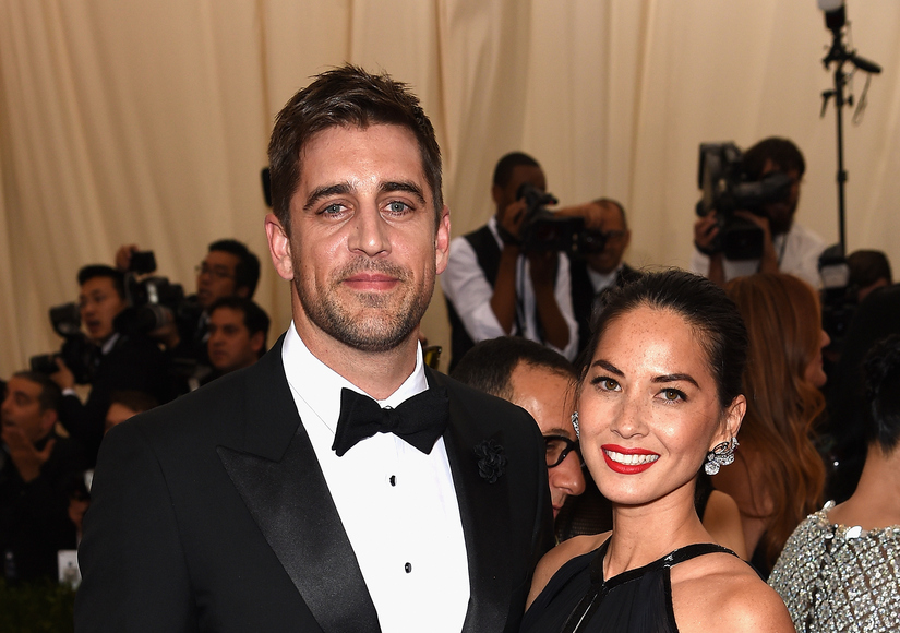 Aaron Rodgers Opens Up on Olivia Munn Relationship
