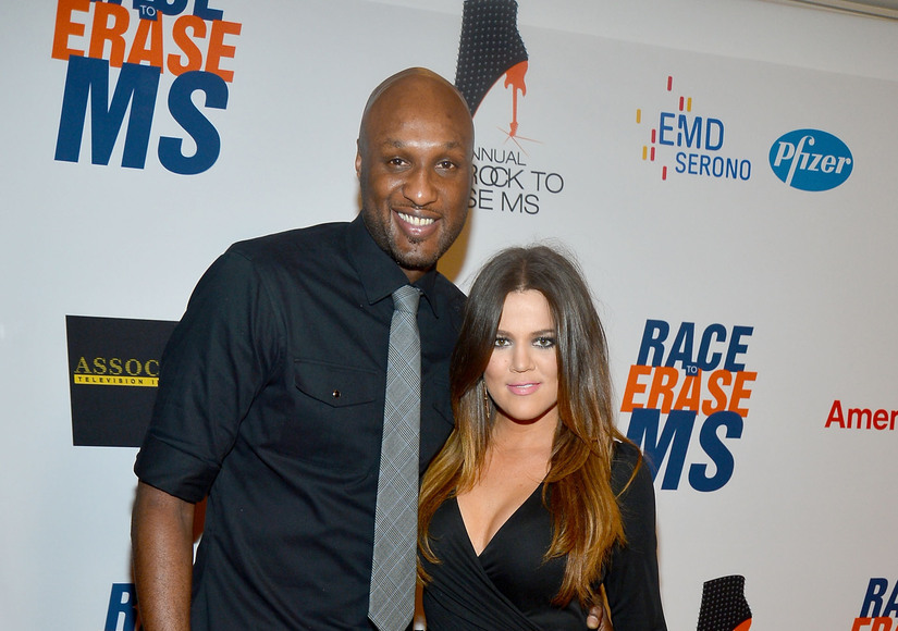 Khloé Kardashian Leaves Lamar Odom's Side, Chops Off Her Hair