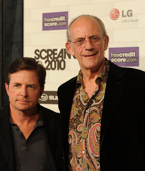 Watch Michael J. Fox and Christopher Lloyd Go 'Back to the Future' in New…