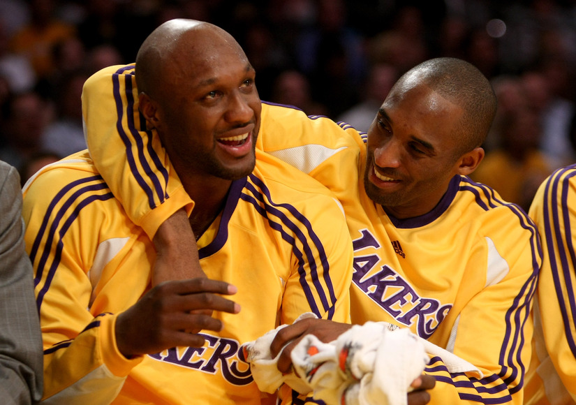 Kobe Bryant Prays for Lamar Odom, Blasts Haters