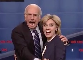 Watch Larry David's Perfect Bernie Sanders Impression