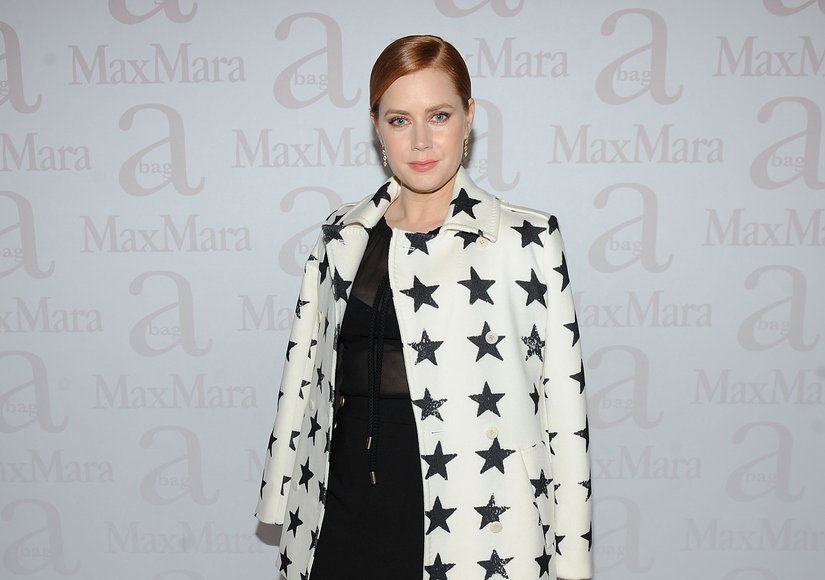 Amy Adams Opens Up on Secret Wedding and Jennifer Lawrence's Letter on Gender Wage Gap