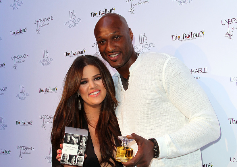 Khloé Kardashian Spends Halloween with Lamar Odom