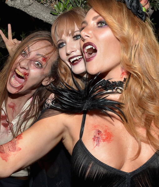 Babes, Blood, and Brody: Inside Hugh Hefner's Playboy Mansion Halloween Bash