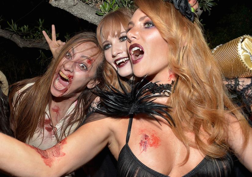 Babes, Blood, and Brody: Inside Hugh Hefner's Playboy Mansion Halloween Bash