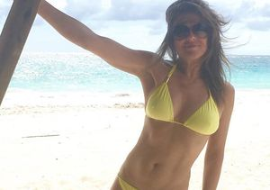 Elizabeth Hurley Looks Jaw-Droppingly Amazing in a Bikini at 50