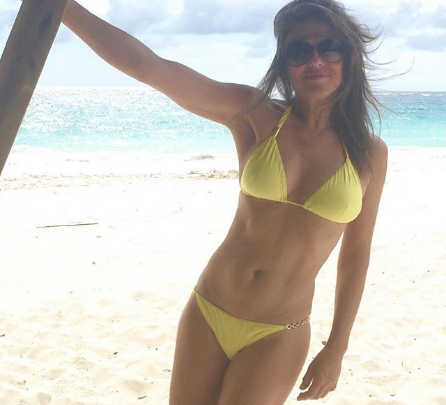 Elizabeth Hurley Looks Jaw-Droppingly Amazing in a Bikini at 50