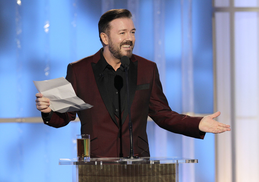 Ricky Gervais Returns as Golden Globes Host After Three Years Away