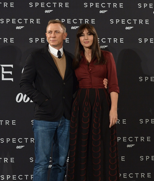 Bond & His Lady Invade Rome