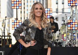 2f1b8686e93ff Carrie Underwood Talks Life as a Mom, Her CALIA Fitness Clothing Line and  More