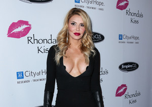 Overexposed! Brandi Glanville Wears Black Pasties Because 'Girls Keep Coming…