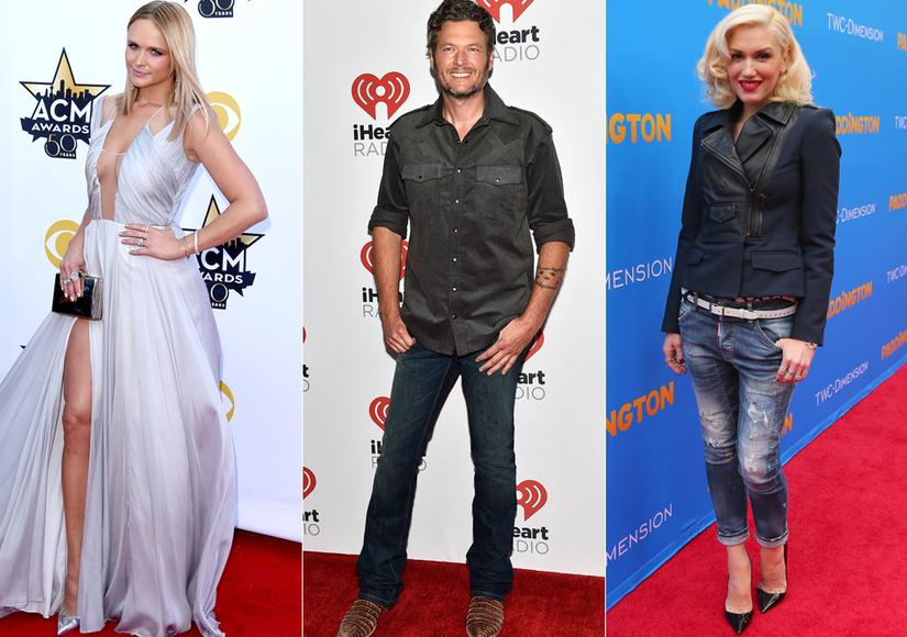 How Miranda Lambert Reacted to Blake Shelton & Gwen Stefani Romance Rumors