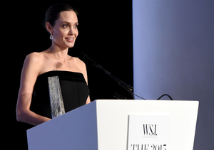 Video! Angelina Jolie Says She Learned from Her Kids What It Means to be…