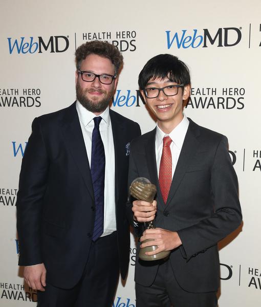 Seth Rogen Honors Kenneth Shinozuka in Hilarious Way at WebMD Health Hero…