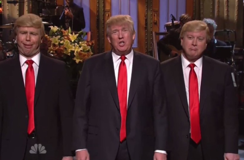 Live from New York, It's Donald Trump