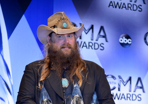 Chris Stapleton Tops Billboard 200 After CMA Wins
