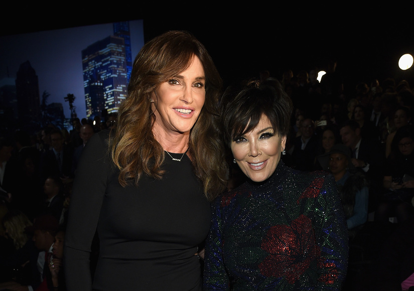 Caitlyn & Kris Jenner Reunite for Kendall's Debut at Victoria's Secret Fashion Show