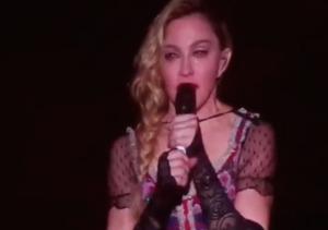 Madonna's Speech for Peace