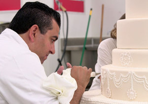 Buddy Valastro Makes One-of-a-Kind Wedding Cake for His Employee – Watch!