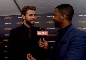 'Extra' with the Cast at the Last 'Hunger Games' Premiere in NYC
