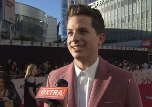 Charlie Puth on Rehearsing His Make Out Session with Meghan Trainor at the AMAs