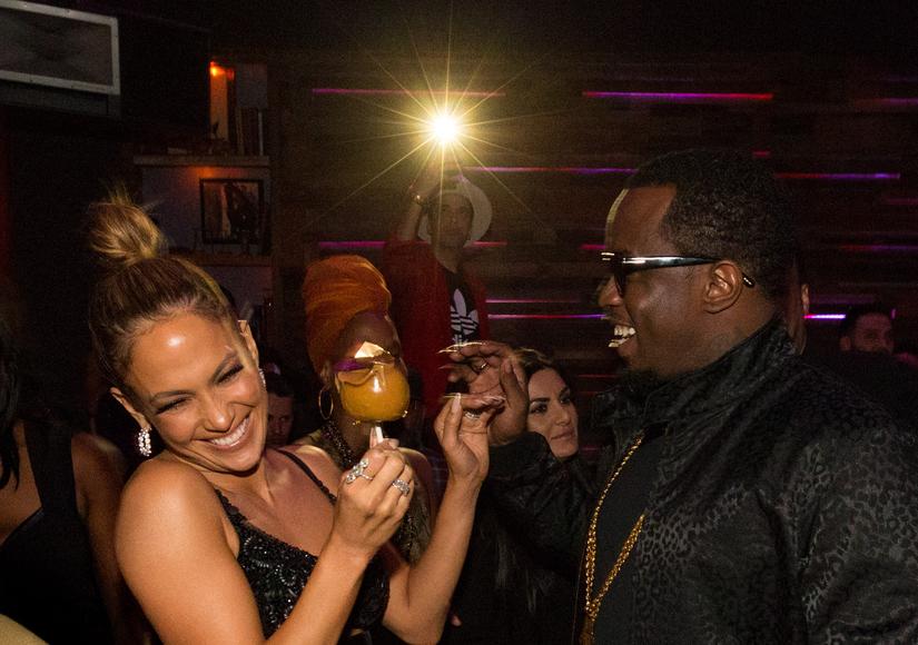 Jennifer Lopez & P. Diddy Party Like It's 1999 After the AMAs