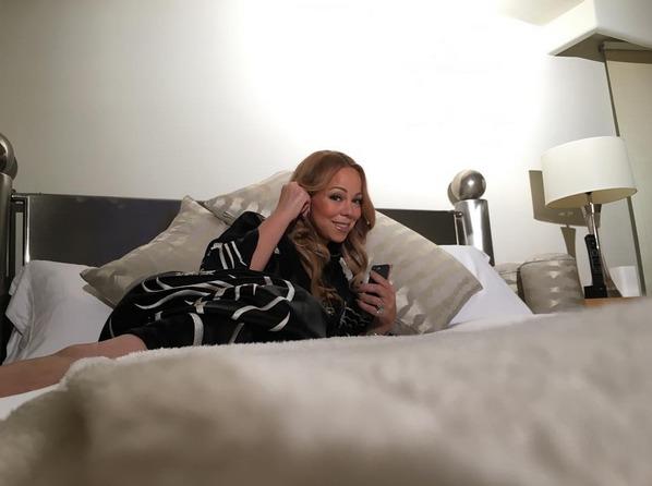 See Mariah Carey in Bed at Her $10,000 per Night Airbnb Rental