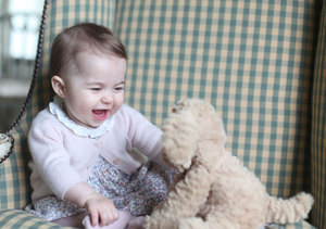 William & Kate Release 2 New Charlotte Pics