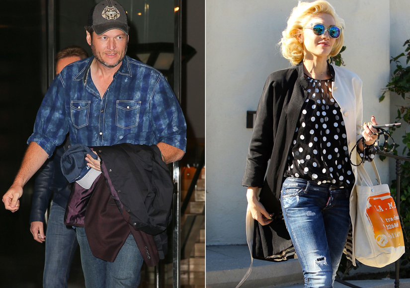 Still Going Strong: Blake & Gwen Spotted Over Thanksgiving Weekend