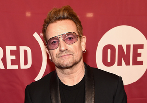 Bono Opens Up on Paris Terror Attacks and Charlie Sheen's HIV Revelation