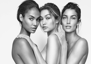 Gigi Hadid, Joan Smalls, Lily Aldridge Get Naked for Stuart Weitzman