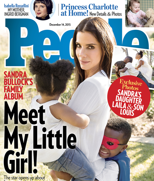 Meet Sandra Bullock's New Adopted Daughter Laila