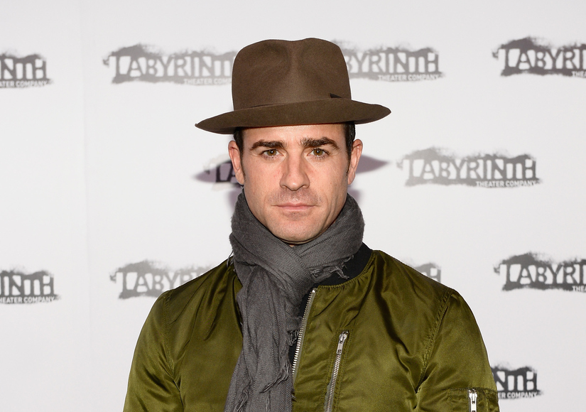 Justin Theroux Joins Instagram — See His First Selfie!