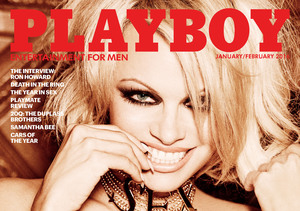 Pamela Anderson Covers Final Nude Playboy Issue, Shares Wildest Playboy-Mansion…