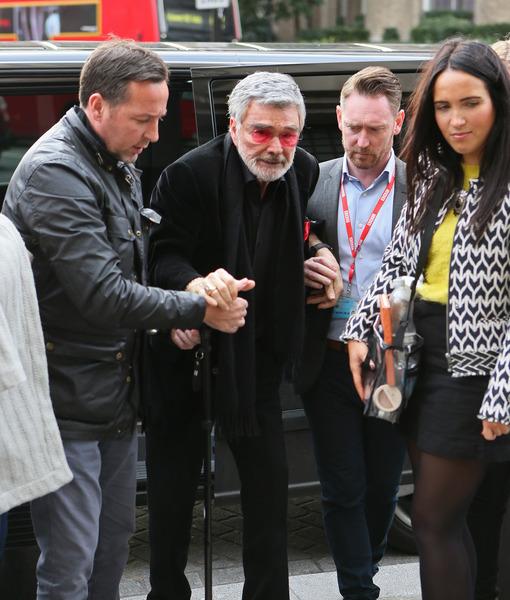 Burt Reynolds Looks Shockingly Frail in London