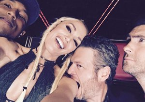 Blake Shelton & Gwen Stefani's PDA-Filled Night on 'The Voice' — See…