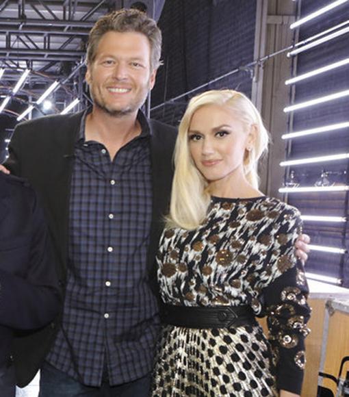 Blake Shelton & Gwen Stefani Were 'Very Happy Together' on Vineyard Date